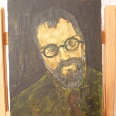 Tablou vechi-Portret-Corneliu Baba