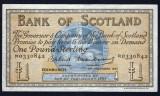 Scotia 1 Pound Sterling Edinburgh sR0330842 1957