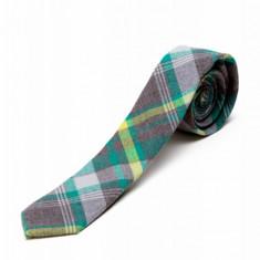 Cravata Gri In Carouri CR006-2818