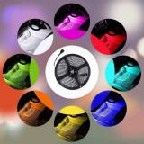 Cumpara ieftin Banda LED auto decorativa RGB+NW 5050, 72W, 12V, lungime 5m, autoadeziva, interior, IP20