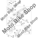 MBS Patina lant KTM EXC/SXF/SX #6, Cod Produs: 50304066100KT