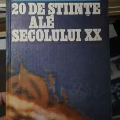 20 de stiinte ale secolului XX – Daniel Cocoru