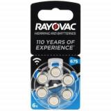 Baterii pentru proteze auditive RAYOVAC 675 Acoustic PR 44 Zinc-Aer 6 baterii / set