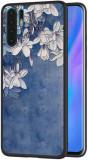 Cumpara ieftin Husa XIAOMI Redmi Note 8 Pro - Flowers 3D (Albastru)