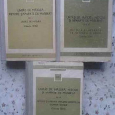 UNITATI DE MASURA, METODE SI APARATE DE MASURAT VOL.1-3 (COLECTIE STAS) - COLECT