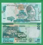 = MALAWI - 50 KWACHA - 2016 - UNC =