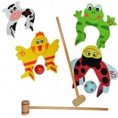 Jucarie de lemn, Croquet Game