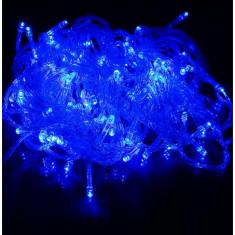 Instalatie de Craciun, Liniara, 8 m, Albastru, 100 leduri, SDX, 3127B