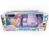 Casa de marcat cu cosulet cumparaturi Frozen GB36B