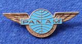 Insigna Aviatie PANAM Junior clipper stewardess