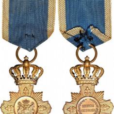 Crucea - Serviciul Credincios, 1906, model I, clasa I