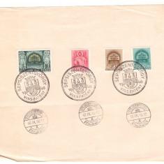 1940 - Sfantu Gheorghe, fragm. cu stamp.spec. SEPSISZENTGYORGY V
