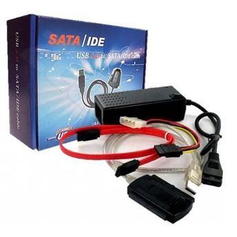 Adaptor Usb 2.0 Sata Ide Acumulator Inclus Hdd 2,5''/3,5'' foto