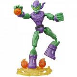 Figurina flexibila Spiderman Bend and Flex, Green Goblin E8973
