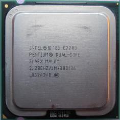 Procesor PC SH Intel Pentium Dual-Core E2200 SLA8X 2.2Ghz 1M LGA 775