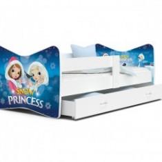 Patut Tineret Pentru Copii Tomi 160x80 - Snow Princess