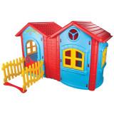 Casuta pentru copii Pilsan Double Magic House blue