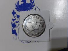 Monedă argint 5 lire Napoleon Bonaparte foto