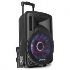 Boxa portabila cu microfon 12'', bluetooth/USB