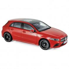 Macheta Auto Norev, Mercedes-Benz A-Klasse 2018 - Rosu 1:18