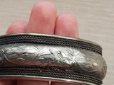 Bratara reglabila argint minutios lucrate - manufactura Germania
