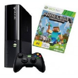 Consola Xbox 360 4GB + joc Minecraft