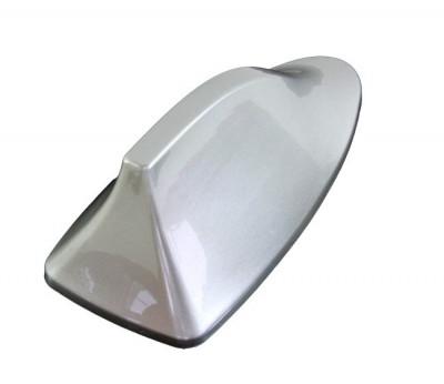 Antena Auto Tip Rechin, Universala, Culoare Argintiu foto