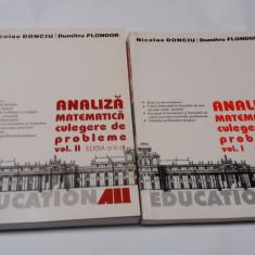 Analiza matematica de Nicolae Donciu si Dumitru Flondor (2 vol)-RF14/2