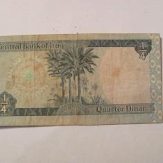 CY - 1/4 dinari 1973 Irak