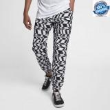 NOU ! PANTALONI ORIGINALI TRENING 100% Nike NSW Printed Swoosh Woven -S-, Din imagine