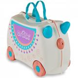 Valiza pentru copii Trunki Ride-On Lola The Llama, Gri