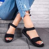 Sandale dama negre Sidera