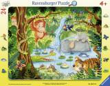 Puzzle Tip Rama Jungla, 24 Piese