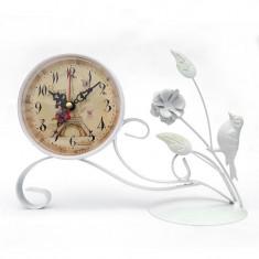 Ceas decorativ alb