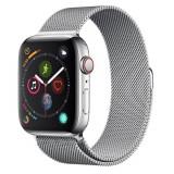 Curea smartwatch Devia Elegant Series Milanese Loop Silver pentru Apple Watch 42mm / 44mm
