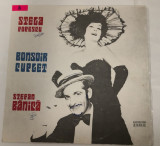 [Vinil] Stela Popescu Stefan Banica - Bonsoir Cuplet - album pe vinil