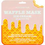 Cumpara ieftin Waffle Mask Masca de fata Ice Cream esenta gel cu extract de Centella Asiatica, calmanta 40 gr, KOCOSTAR