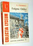 Enigma Otiliei - G. Calinescu Vol. 2