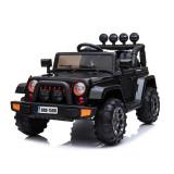 Cumpara ieftin Masinuta electrica Jeep BRD-7588 90W 12V cu Scaun Tapitat Negru