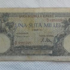 BANCNOTA 100.000 LEI 20 DEC 1946
