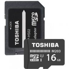 Card de memorie TOSHIBA MicroSDHC M203 16GB CLASS 10 UHS I 100MB/s cu adaptor SD