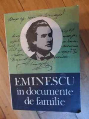 Eminescu In Documente De Familie - Gh.ungureanu ,538100 foto