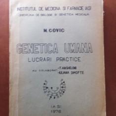 CURS DE LUCRĂRI PRACTICE DE GENETICA - M. COVIC