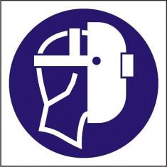 Indicator Utilizati masca pentru sudura(2) - Semn Protectia Muncii