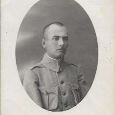 Fotografie soldat roman Primul Razboi Mondial poza veche regalista