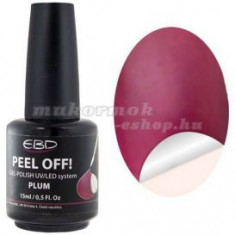 Plum 15ml - LED/UV gel, PEEL OFF