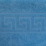 Cumpara ieftin Covoras de picioare Bianca Cu Model Grecesc albastru 50×70 (700 g/mp)