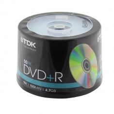 DVD+R, 4,7GB, 120min, 16X, TDK, 50 bucati - 010370