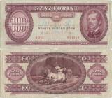 1989 ( 10 I ) , 100 forint ( P-171h ) - Ungaria