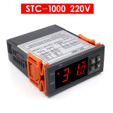 Termostat digital STC - 1000 (220V) / Controler regulator temperatura (v.181)